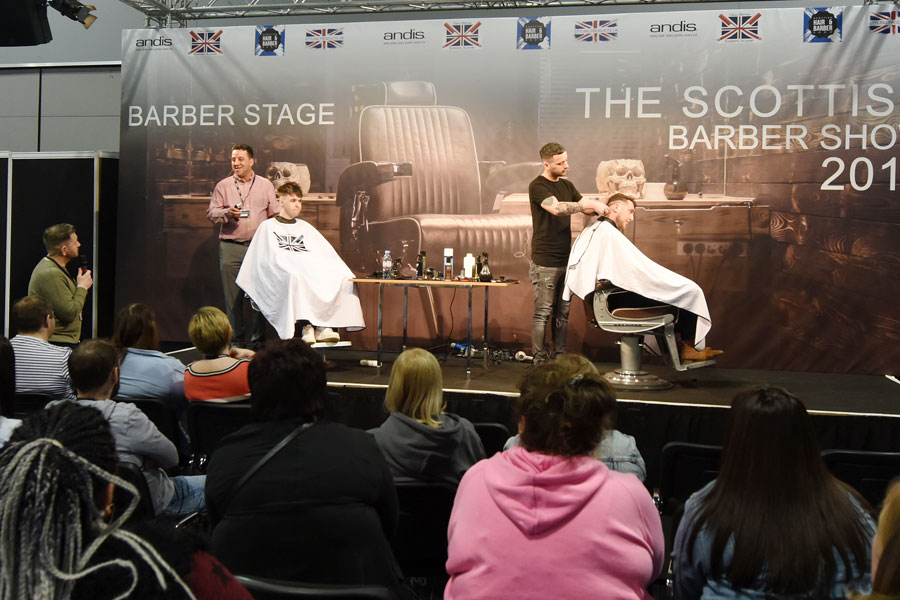 Hair & Barber Stage
